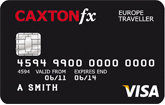 Caxton FX currency card