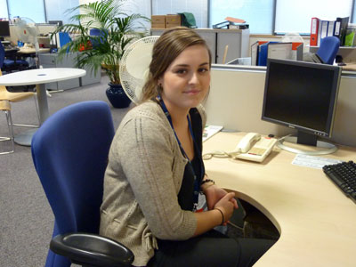 Alex O'Neill, HTP Business Administration apprentice
