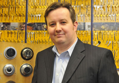 Dr Steffan George, Director, Master Locksmiths Association